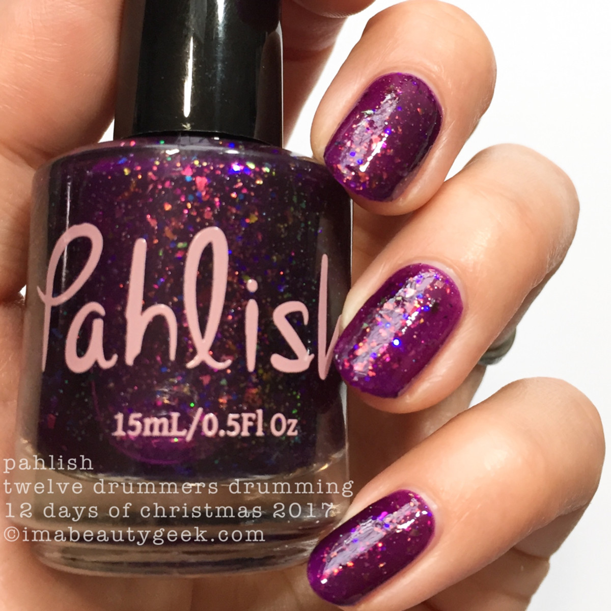 Pahlish Twelve Drummers Drumming - Pahlish 12 Days of Christmas 2017 2