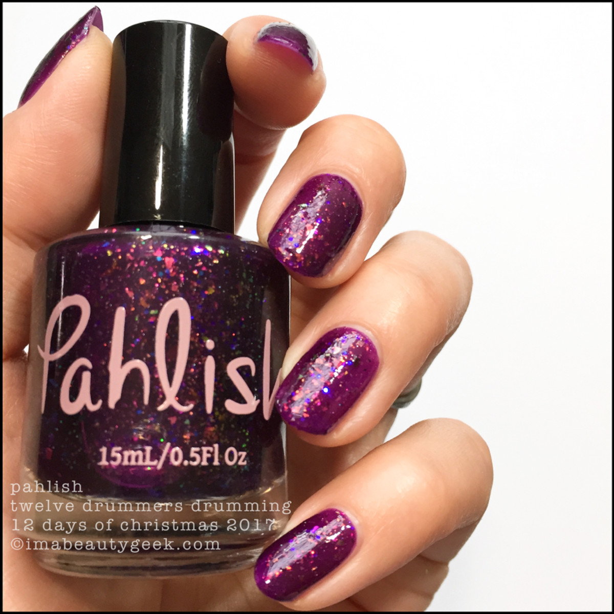 Pahlish Twelve Drummers Drumming - Pahlish 12 Days of Christmas 2017 1