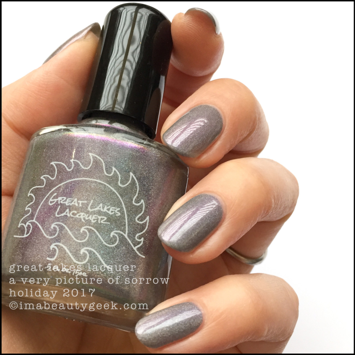Great Lakes Lacquer A Very Picture of Sorrow 2 _ Great Lakes Lacquer Holiday 2017