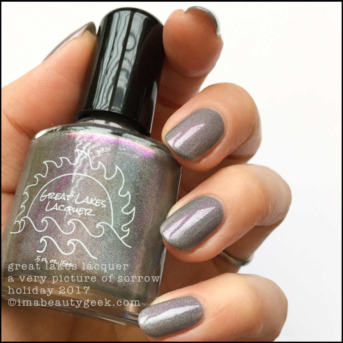 Great Lakes Lacquer A Very Picture of Sorrow 1 _ Great Lakes Lacquer Holiday 2017