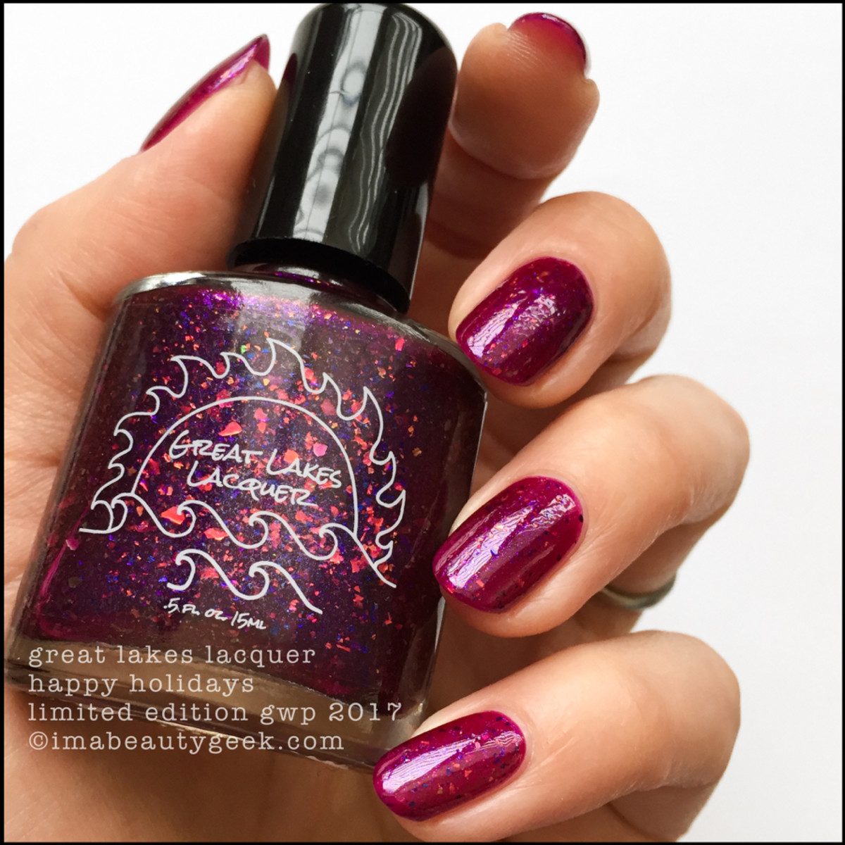 Great Lakes Lacquer Happy Holidays 2017 2