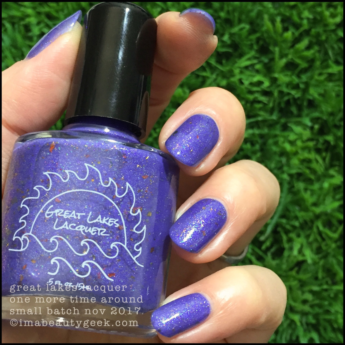 Great Lakes Lacquer One More Time Around 2 _ Great Lakes Lacquer Holiday 2017