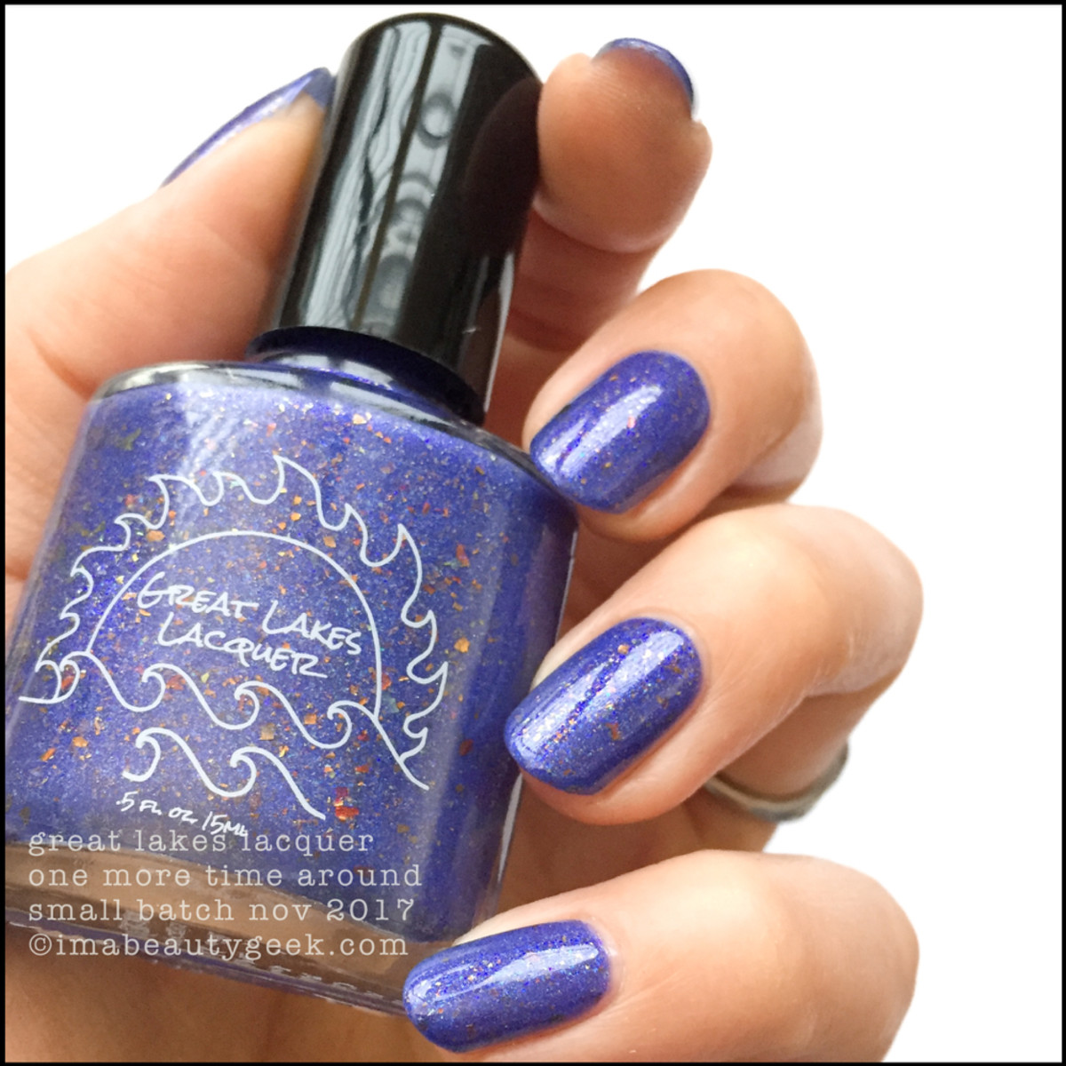 Great Lakes Lacquer One More Time Around 1 _ Great Lakes Lacquer Holiday 2017