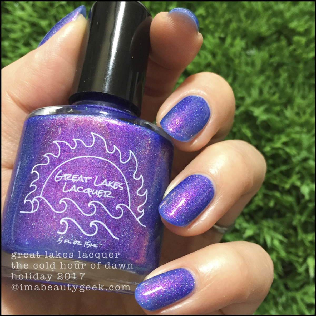 Great Lakes Lacquer The Cold Hour of Dawn 2 _ Great Lakes Lacquer Holiday 2017