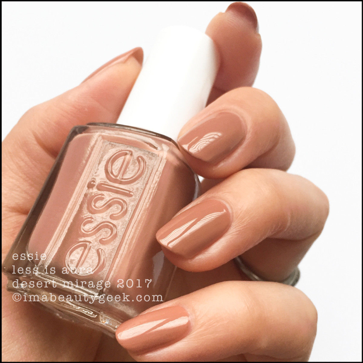 Essie Less Is Aura _ Essie Desert Mirage Collection Swatches 2018