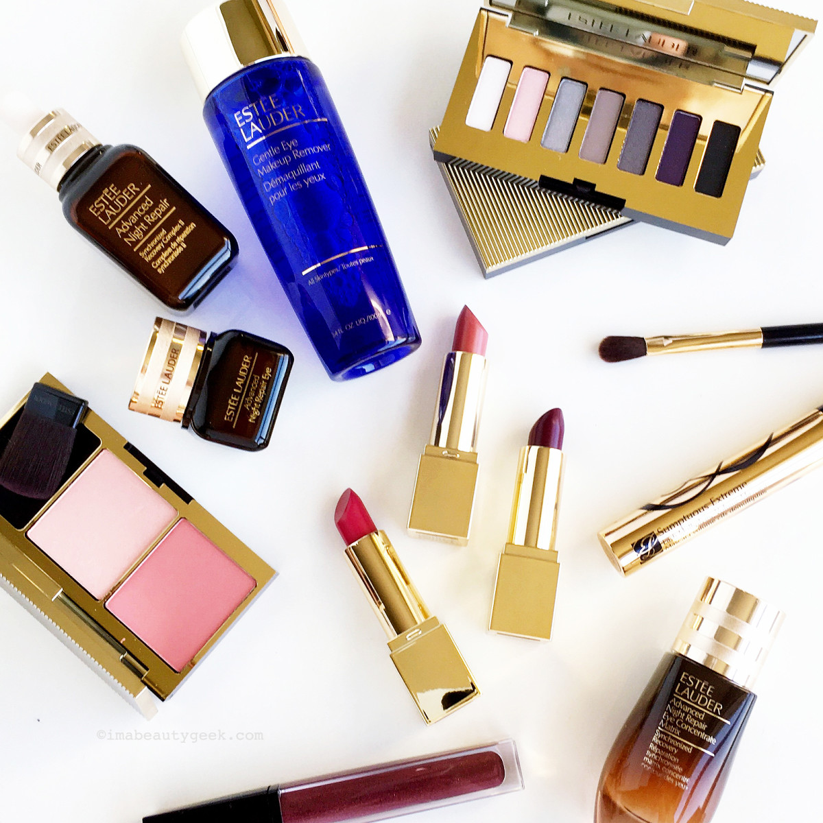 WIN: Estee Lauder 2017 Holiday Blockbuster Smoky Noir + ANR Eye Concentrate Matrix-BEAUTYGEEKS