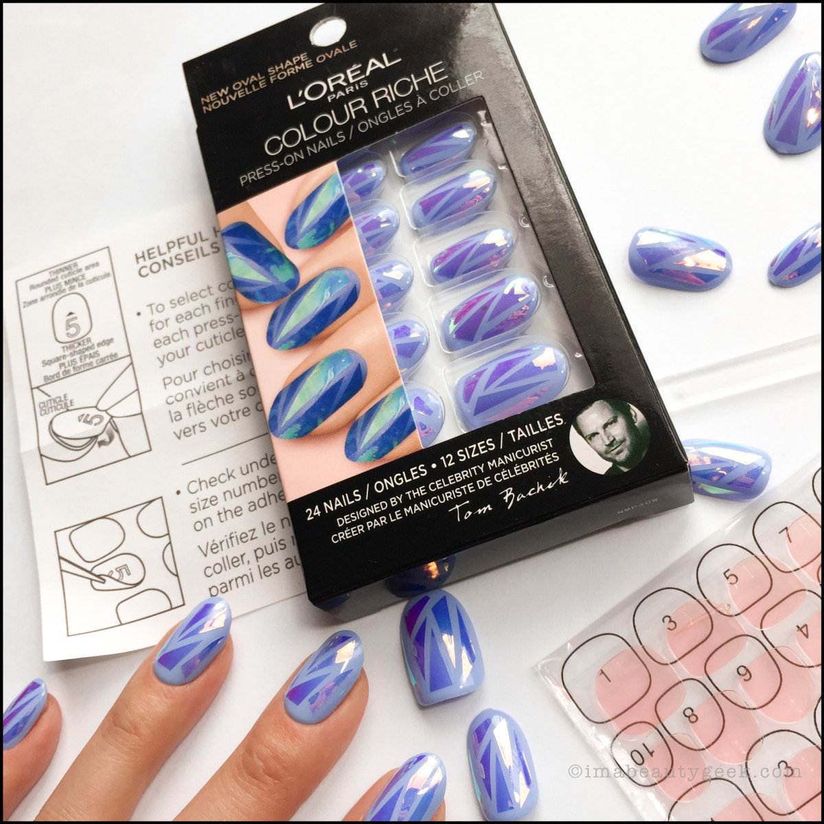 L'Oreal Press On Nails - Heart of Glass