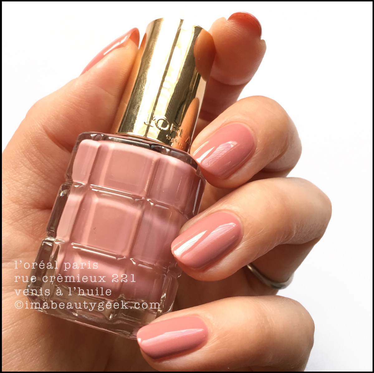 L'Oreal Rue Cremieux Vernis a l'Huile Swatches