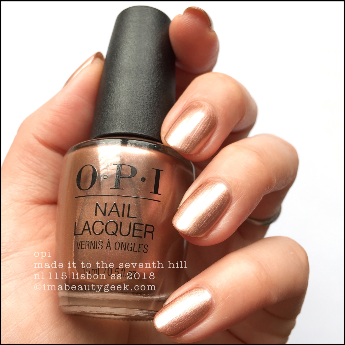 OPI Made it to the Seventh Hill - OPI Lisbon Collection SS 2018