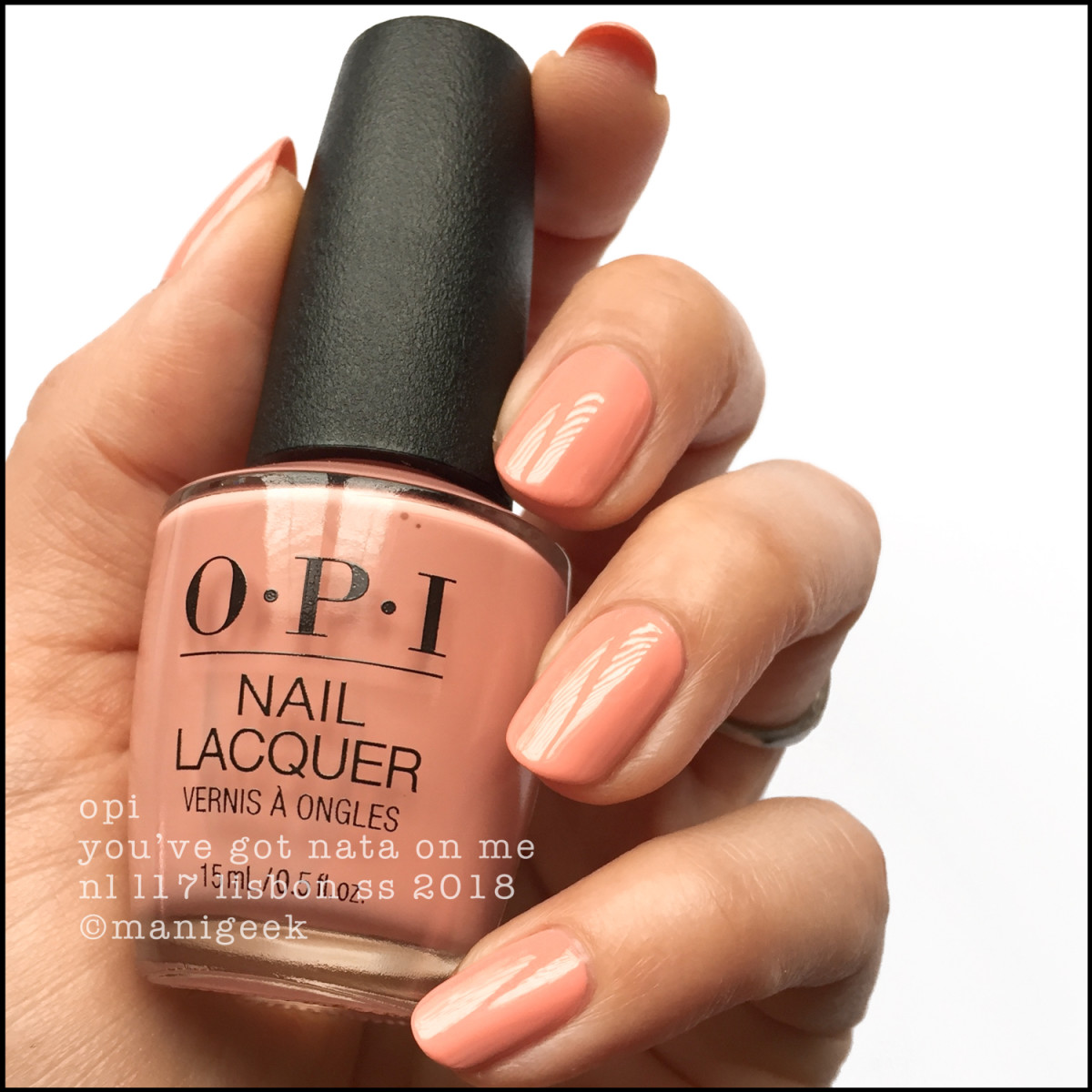 OPI You've Got Nata On Me - OPI Lisbon Collection SS 2018