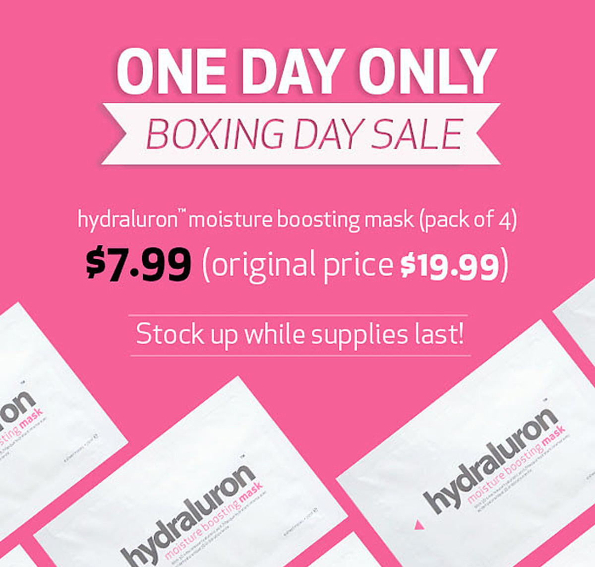 Indeed Labs Hydraluron Moisture Boosting Masks