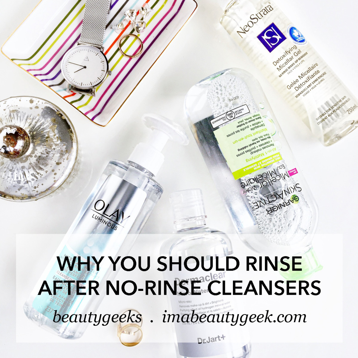 Why you should rinse after using no-rinse cleansers-BEAUTYGEEKS