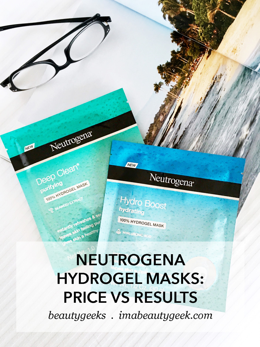Neutrogena Hydro Boost and Deep Clean Hydrogel Masks_a little science