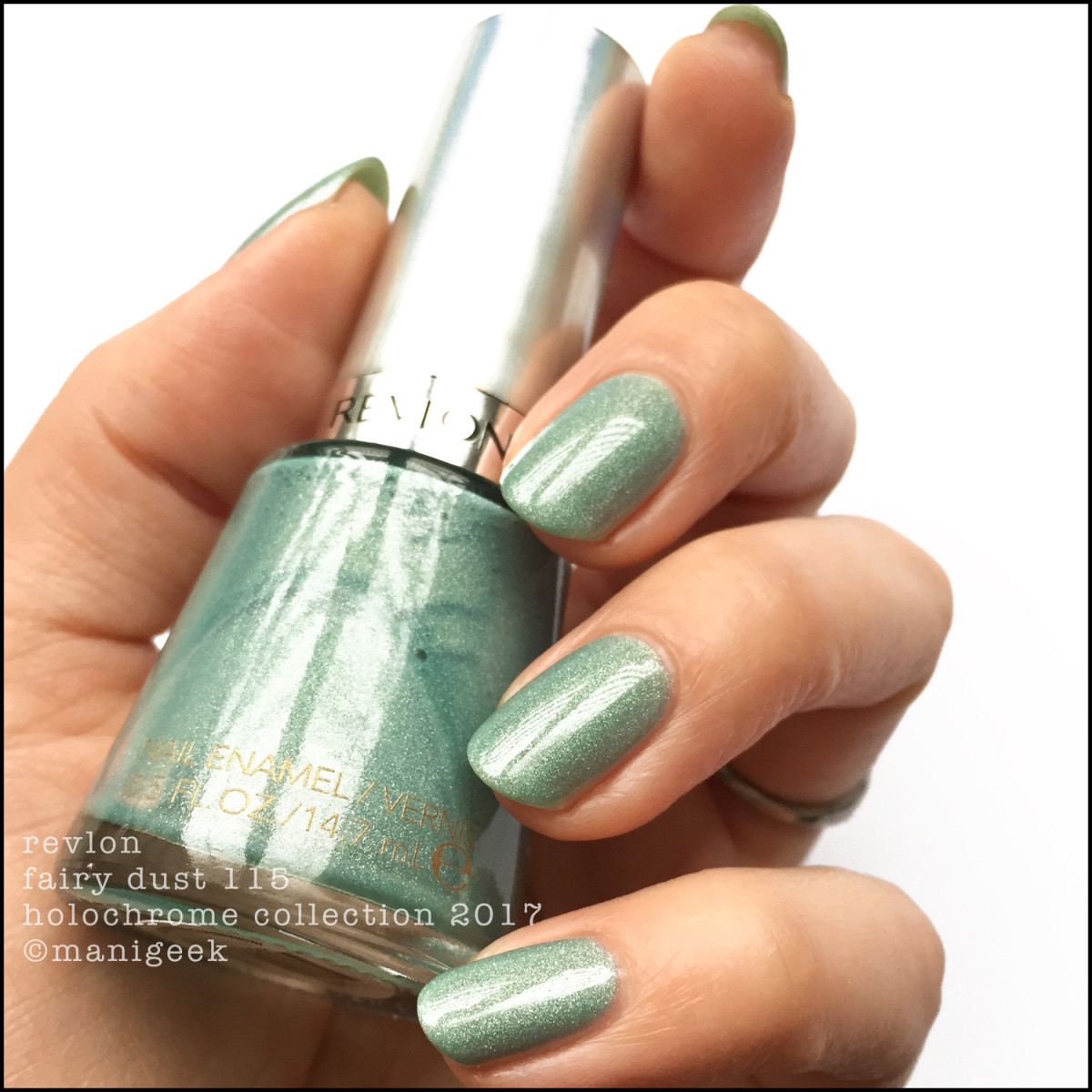 Revlon Fairy Dust 115 Holochrome Collection Swatches