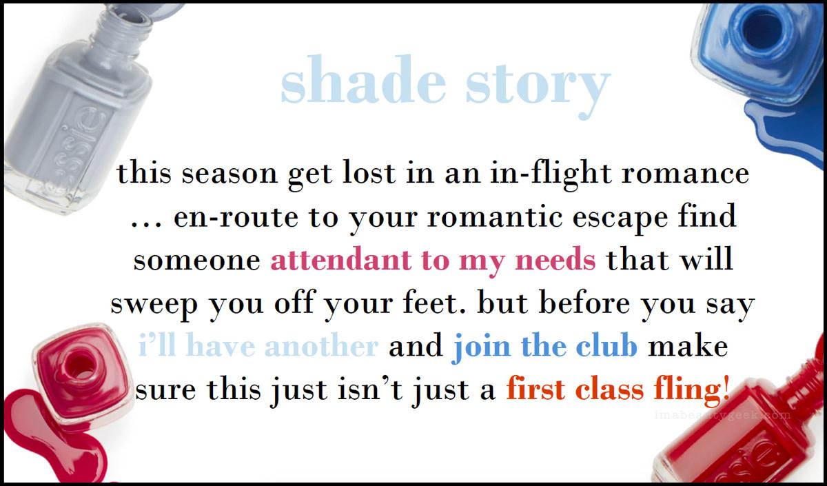 Essie Resort 2018 Shade Story