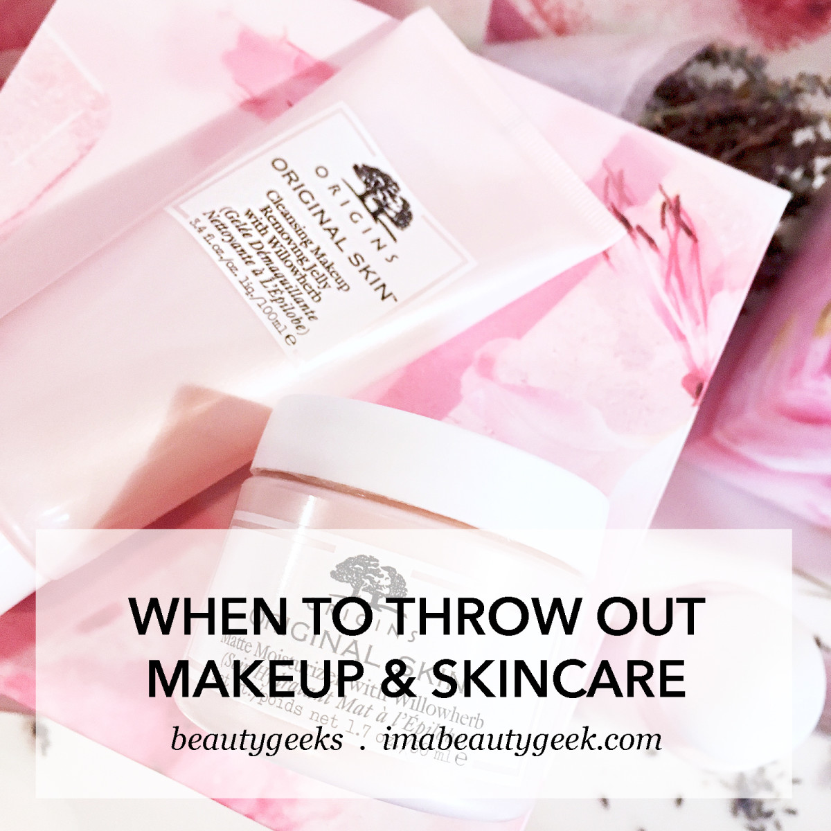 When to throw out makeup and skincare-BEAUTYGEEKS