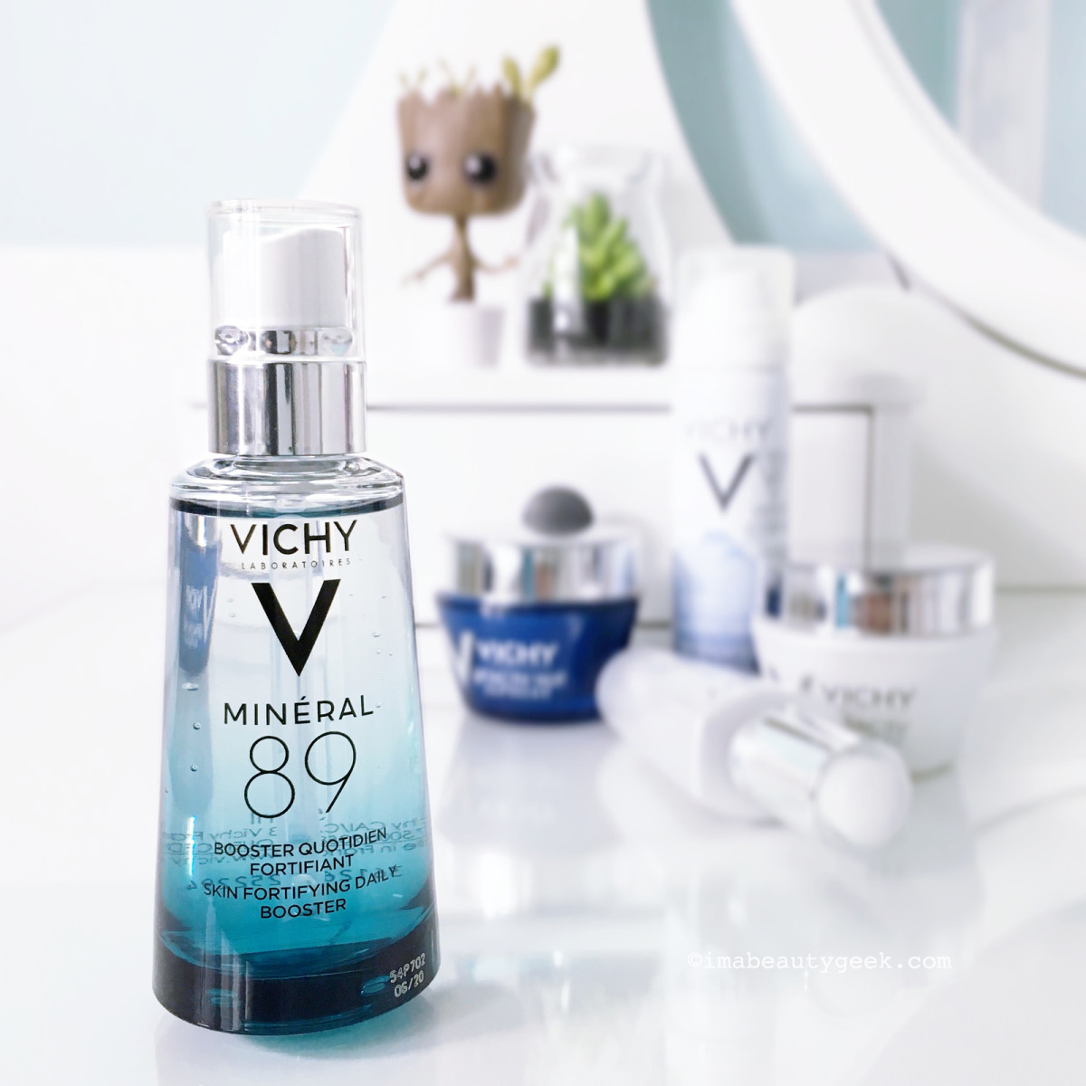 Vichy Mineral 89 booster + skincare regimen giveaway-BEAUTYGEEKS