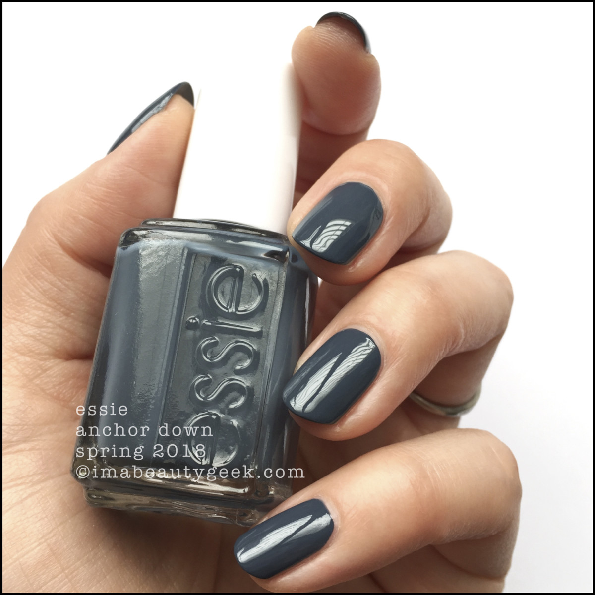 Essie Anchor Down - Essie Spring 2018 Collection Swatches Review