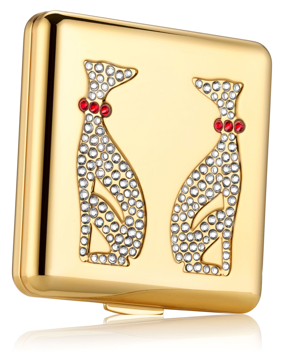 Estee Lauder Year of the Dog Powder Compact by Monica Rich Kosann, $195 at esteelauder.ca