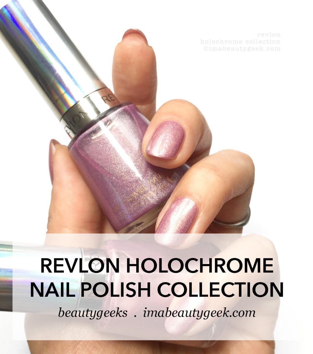 Revlon Holochrome Nail Polish swatches-Manigeek-BEAUTYGEEKS