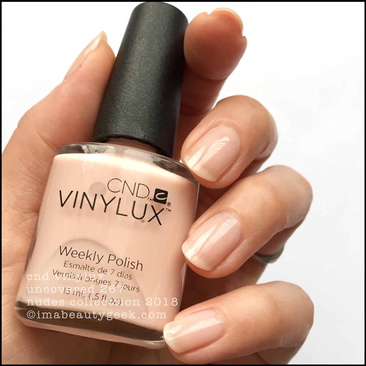 CND Vinylux Uncovered 267 - Vinylux Nudes Collection Swatches 2018
