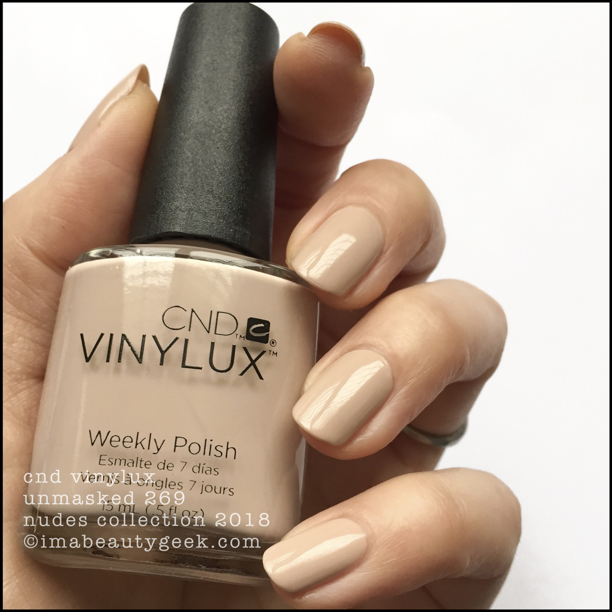 CND Vinylux Unmasked 269 - Vinylux Nudes Collection Swatches 2018