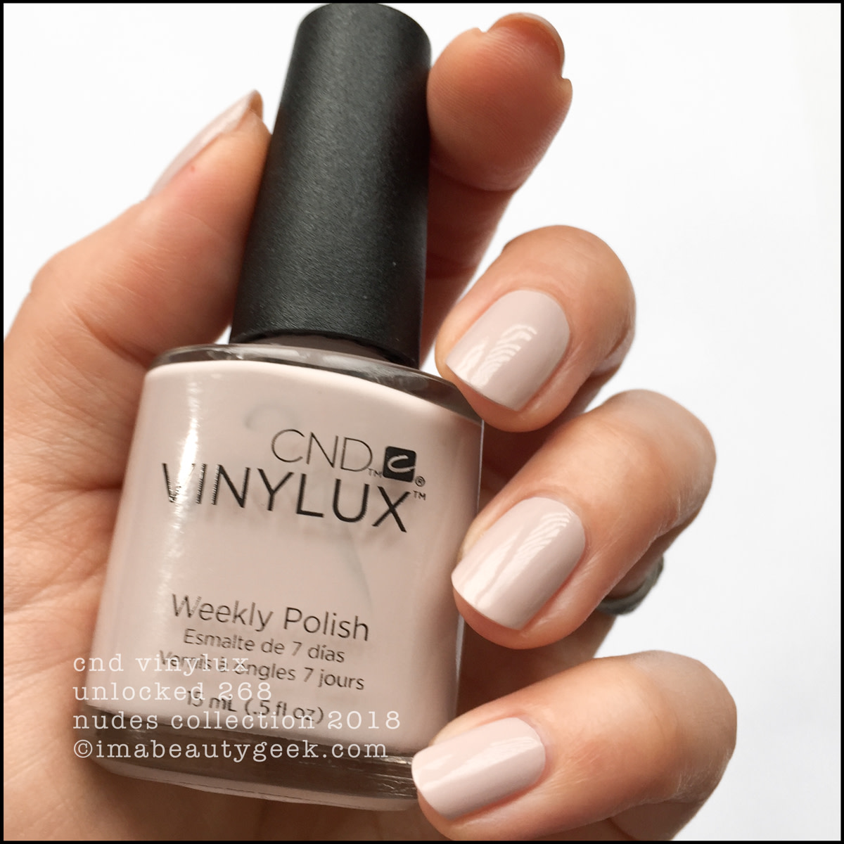 CND Vinylux Unlocked 268 - Vinylux Nudes Collection Swatches 2018