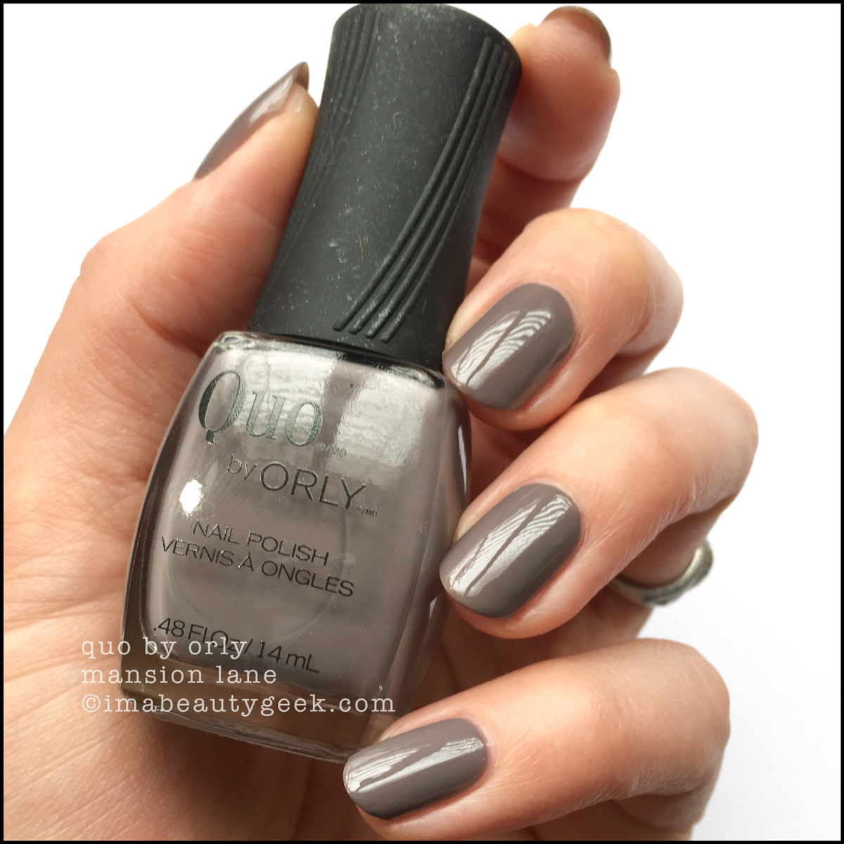 Quo by Orly Mansion Lane _ Orly Darlings of Defiance Collection Swatches