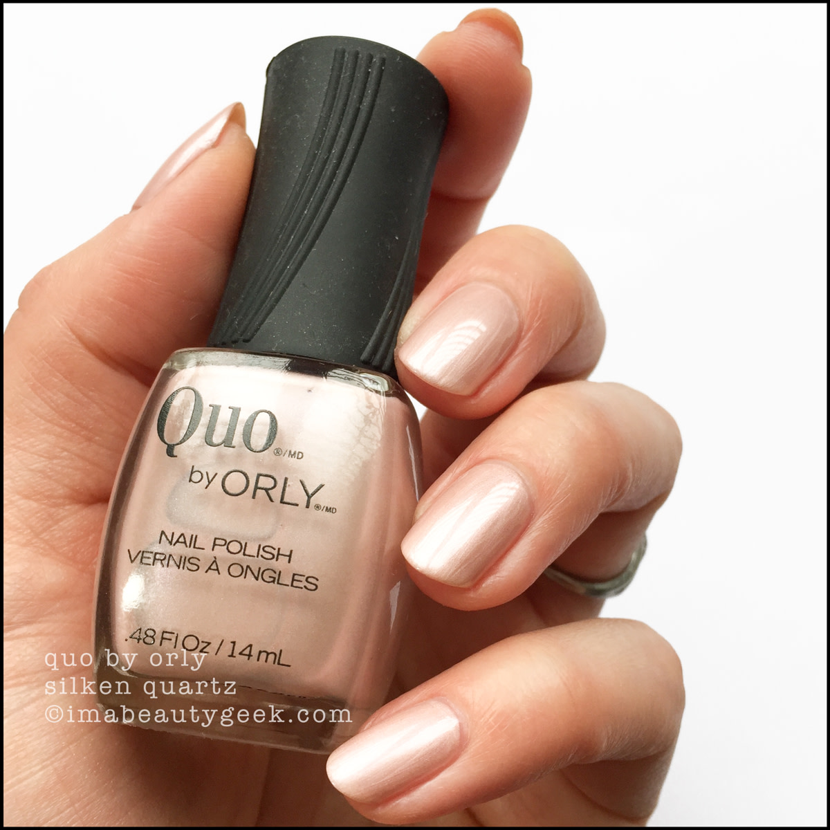 Quo by Orly Silken Quartz - Orly Darlings of Defiance Collection Swatches