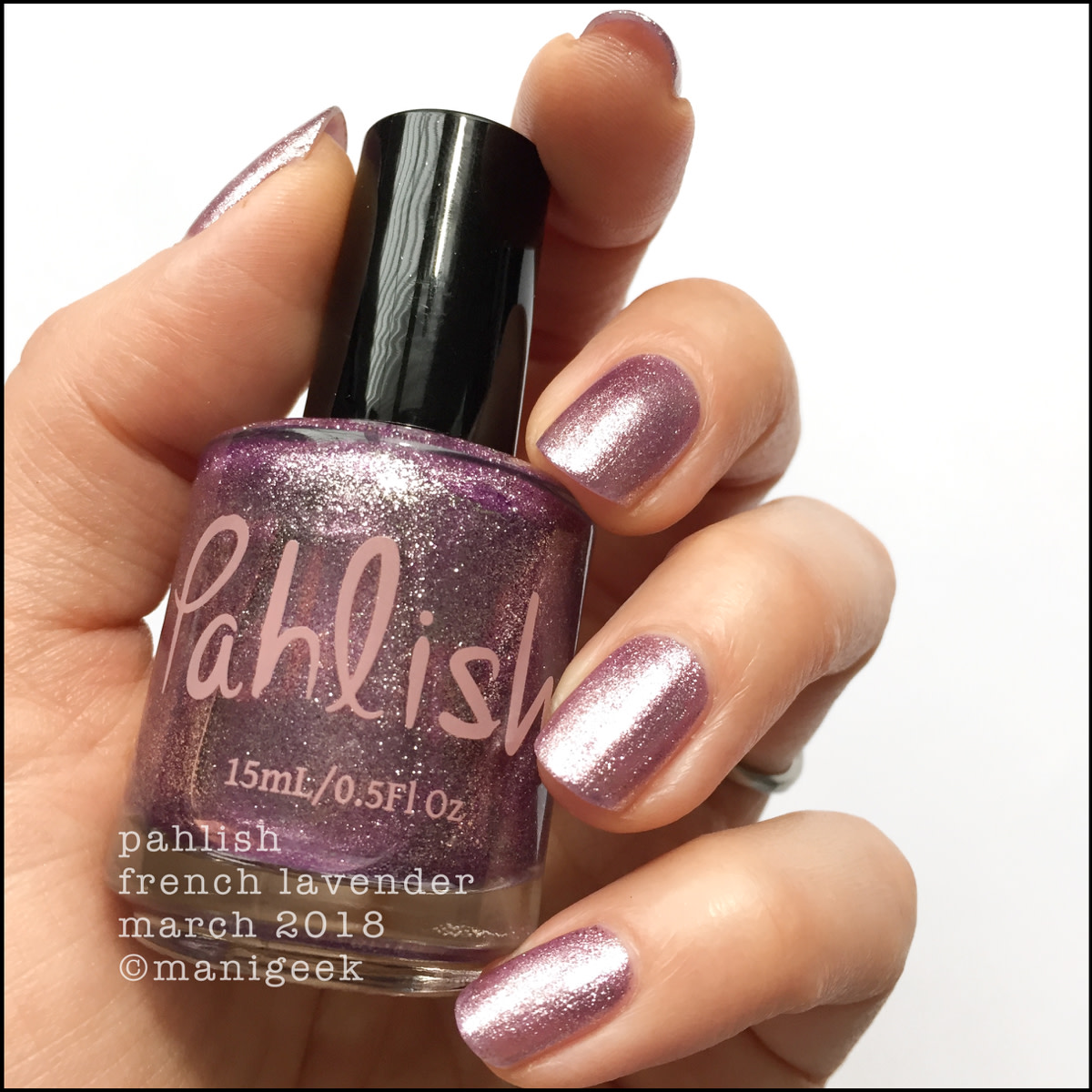 Pahlish French Lavender 1 - March 2018 Collection Swatches