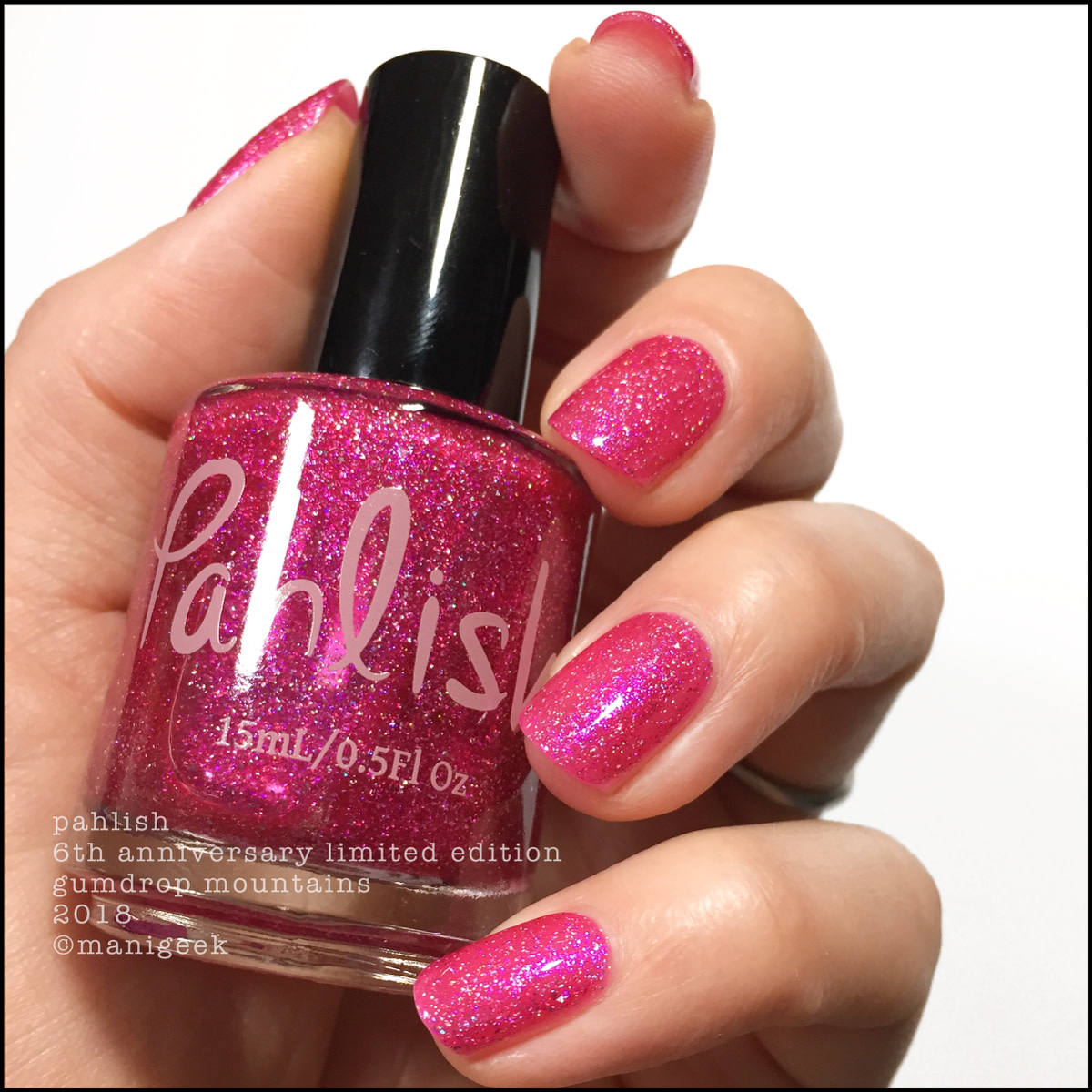 Pahlish Gumdrop Mountains 2 - Limited Edition 6th Anniversary 2018