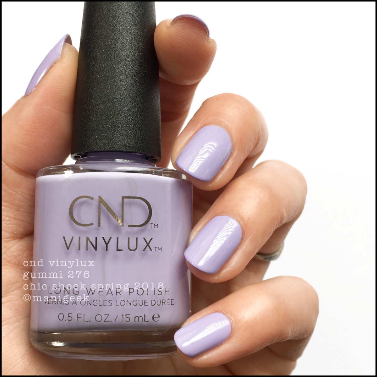 CND Vinylux Gummi 276 - Chic Shock Collection Spring 2018