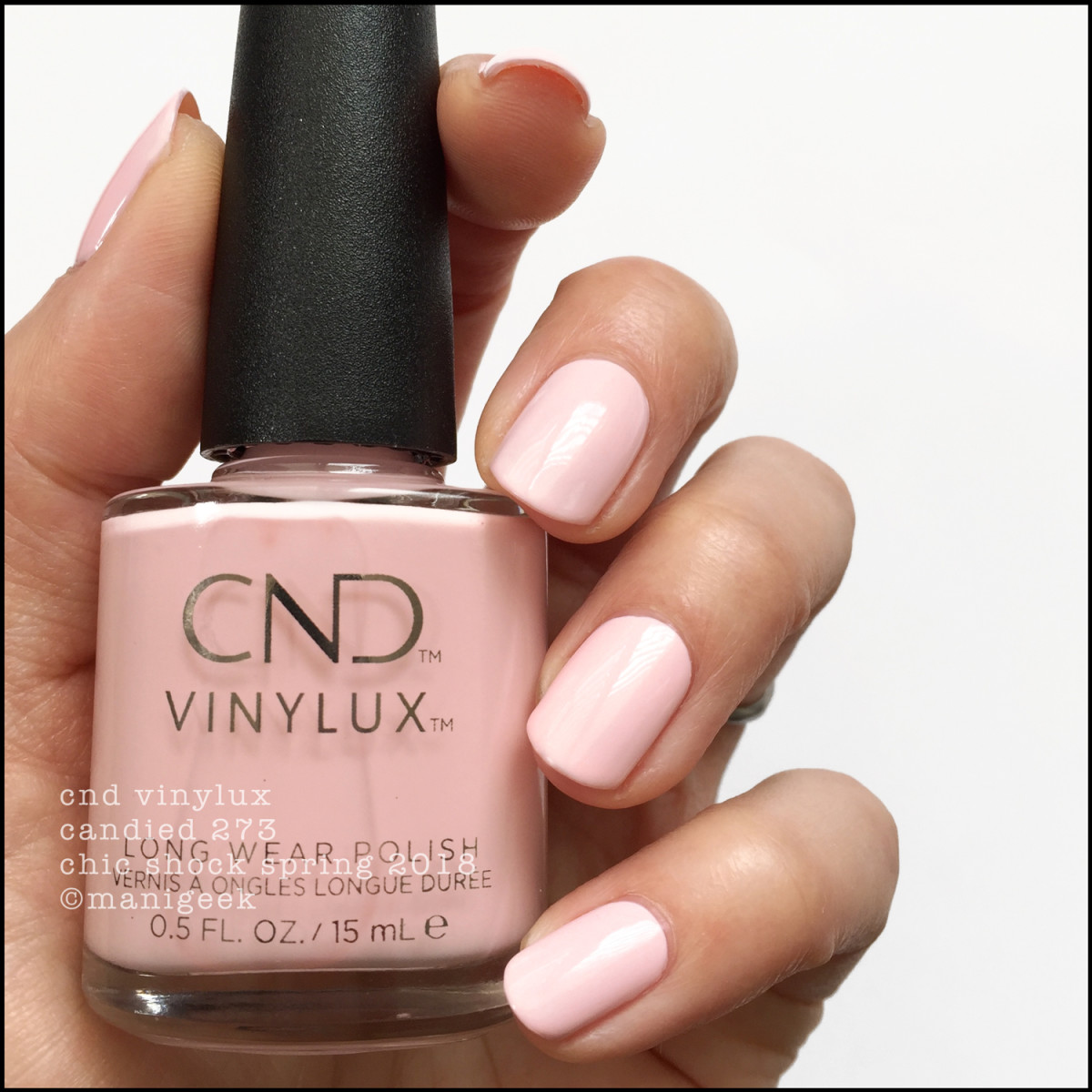 CND Vinylux Candied 273 - Chic Shock Collection Spring 2018