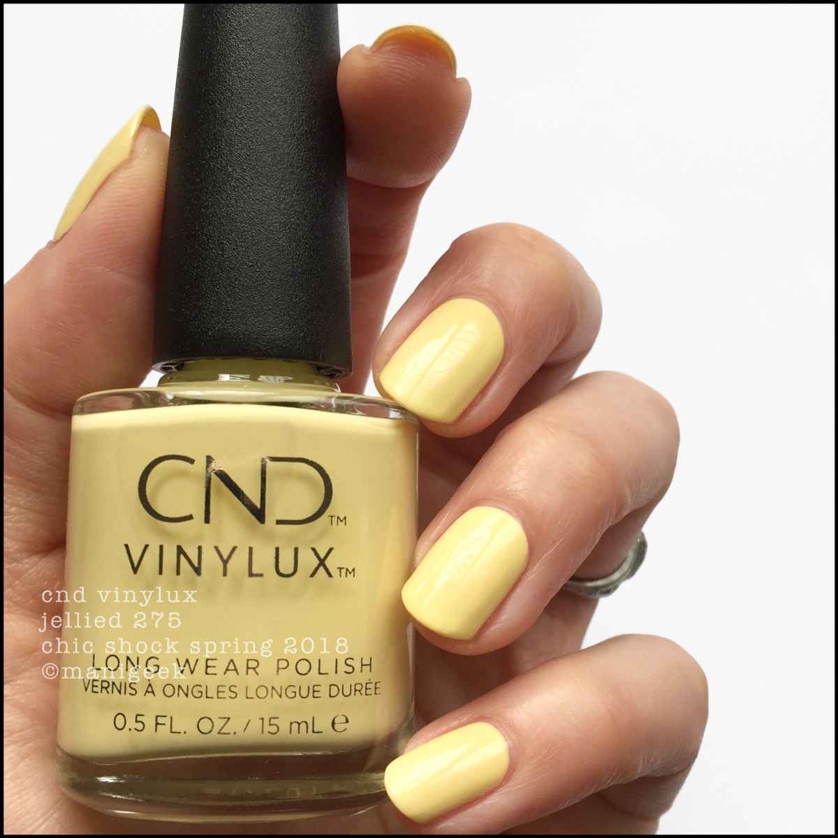 CND Vinylux Jellied 275 - Chic Shock Collection Spring 2018