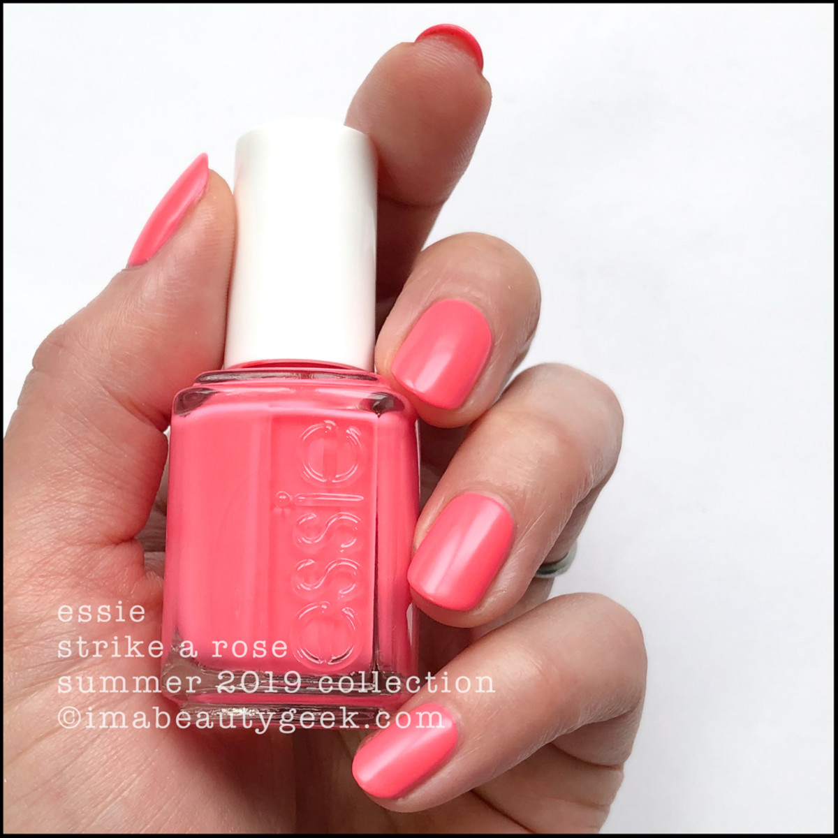 Essie Strike a Rose - Essie Summer 2019 Neons