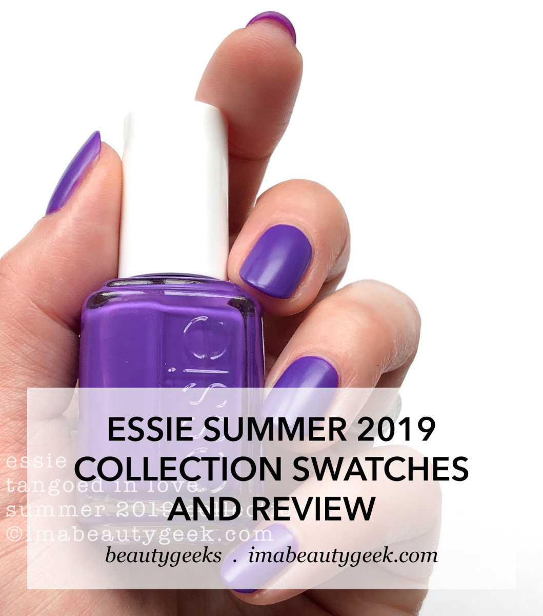 Essie Summer 2019 Neon Collection Swatches