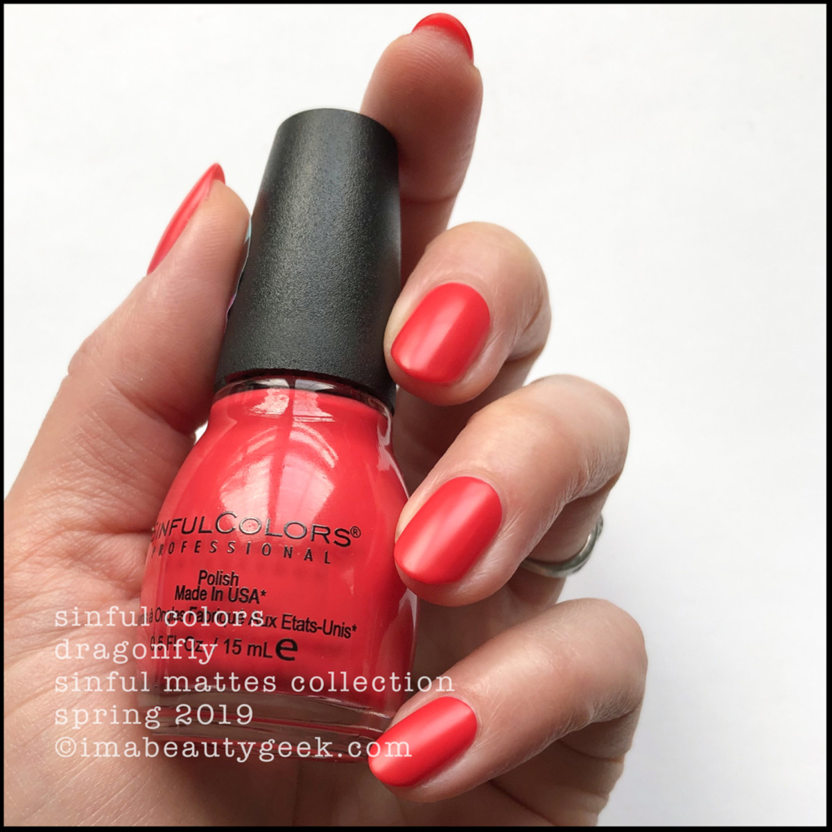 Sinful Colors Dragonfly _ Sinful Colors Swatches Matte Collection 2019