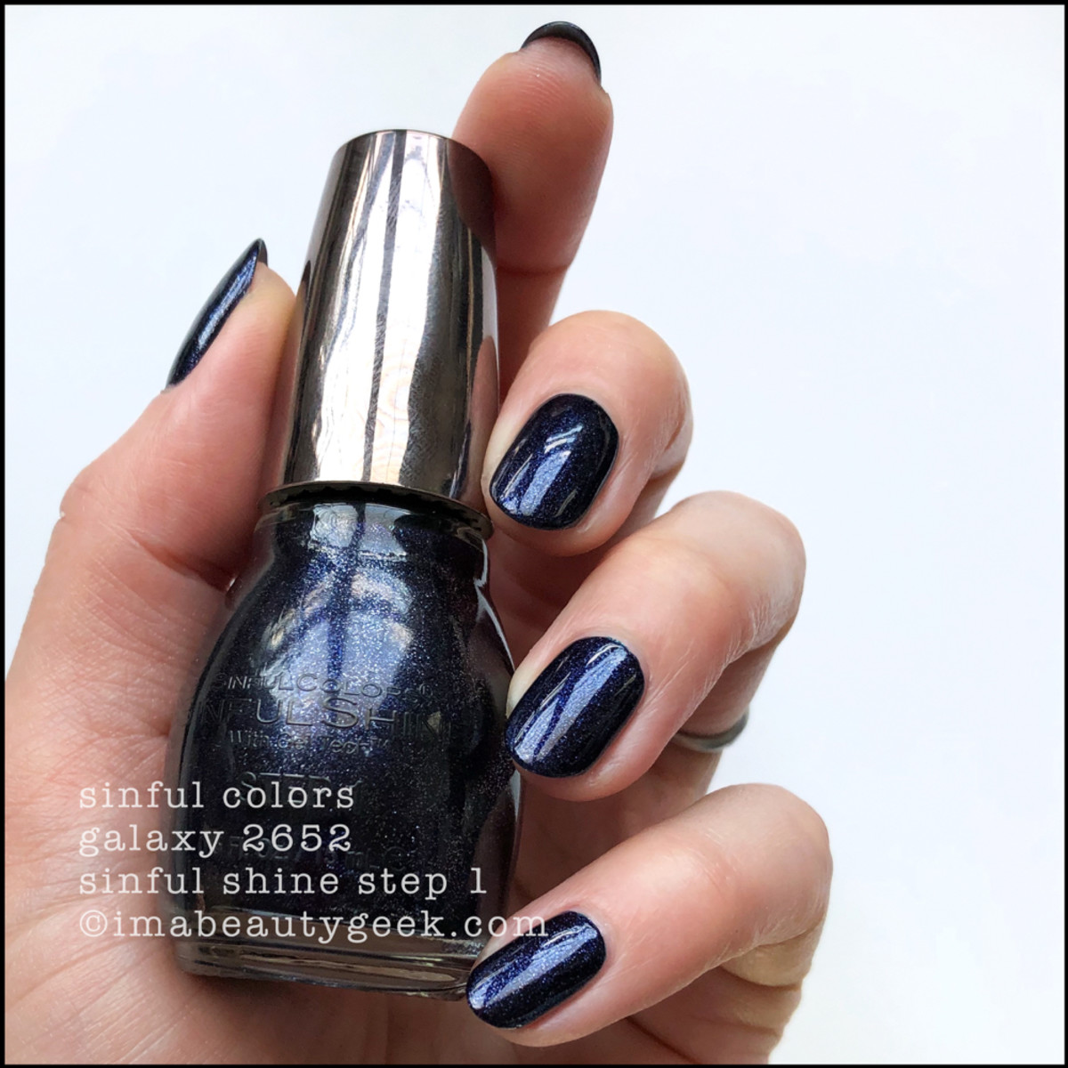 Sinful Colors Galaxy - Sinful Colors Swatches Sinful Shine 2019