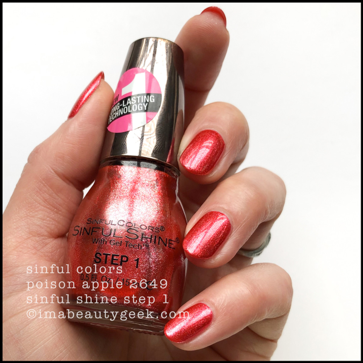Sinful Colors Poison Apple - Sinful Colors Swatches Sinful Shine 2019