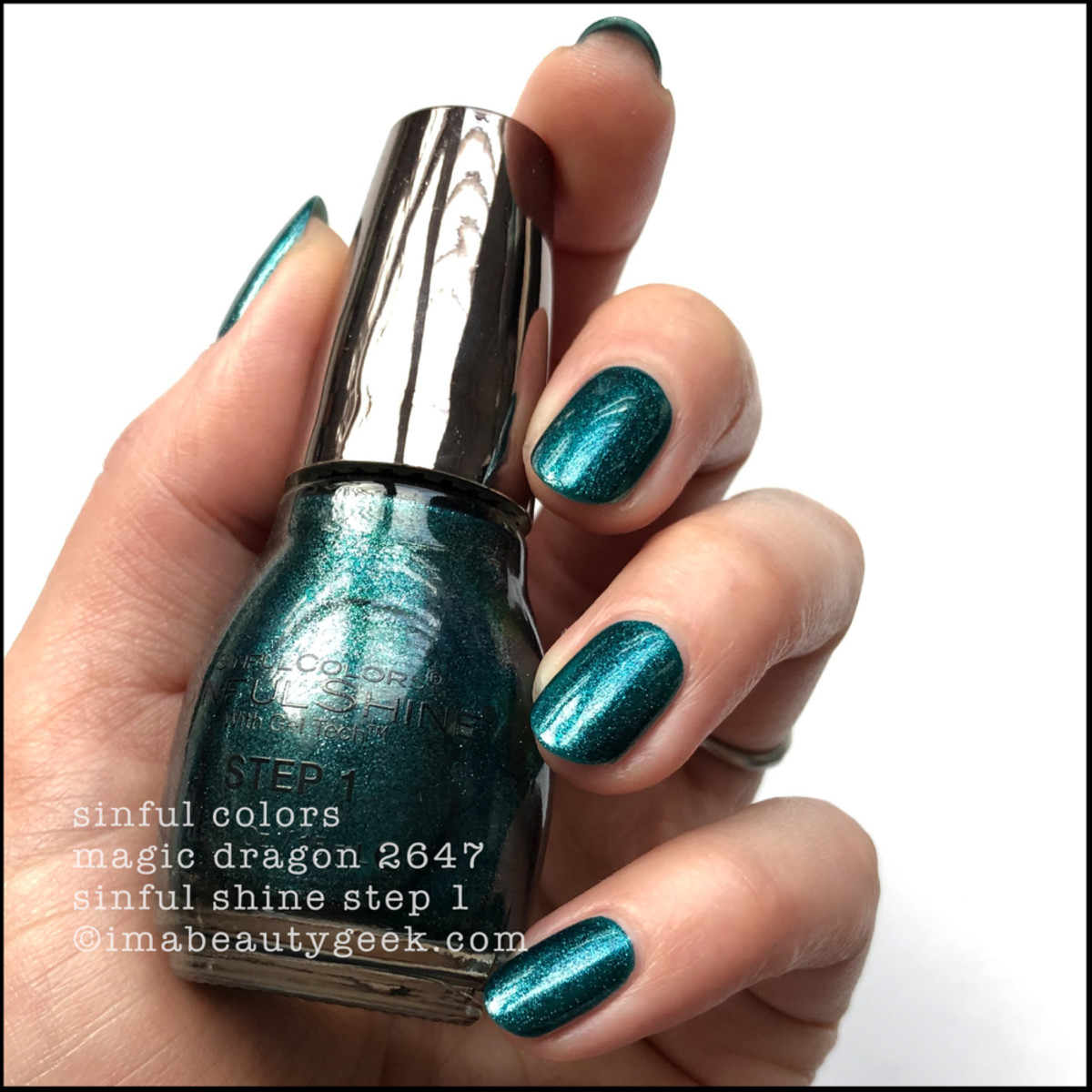 Sinful Colors Magic Dragon - Sinful Colors Swatches Sinful Shine 2019