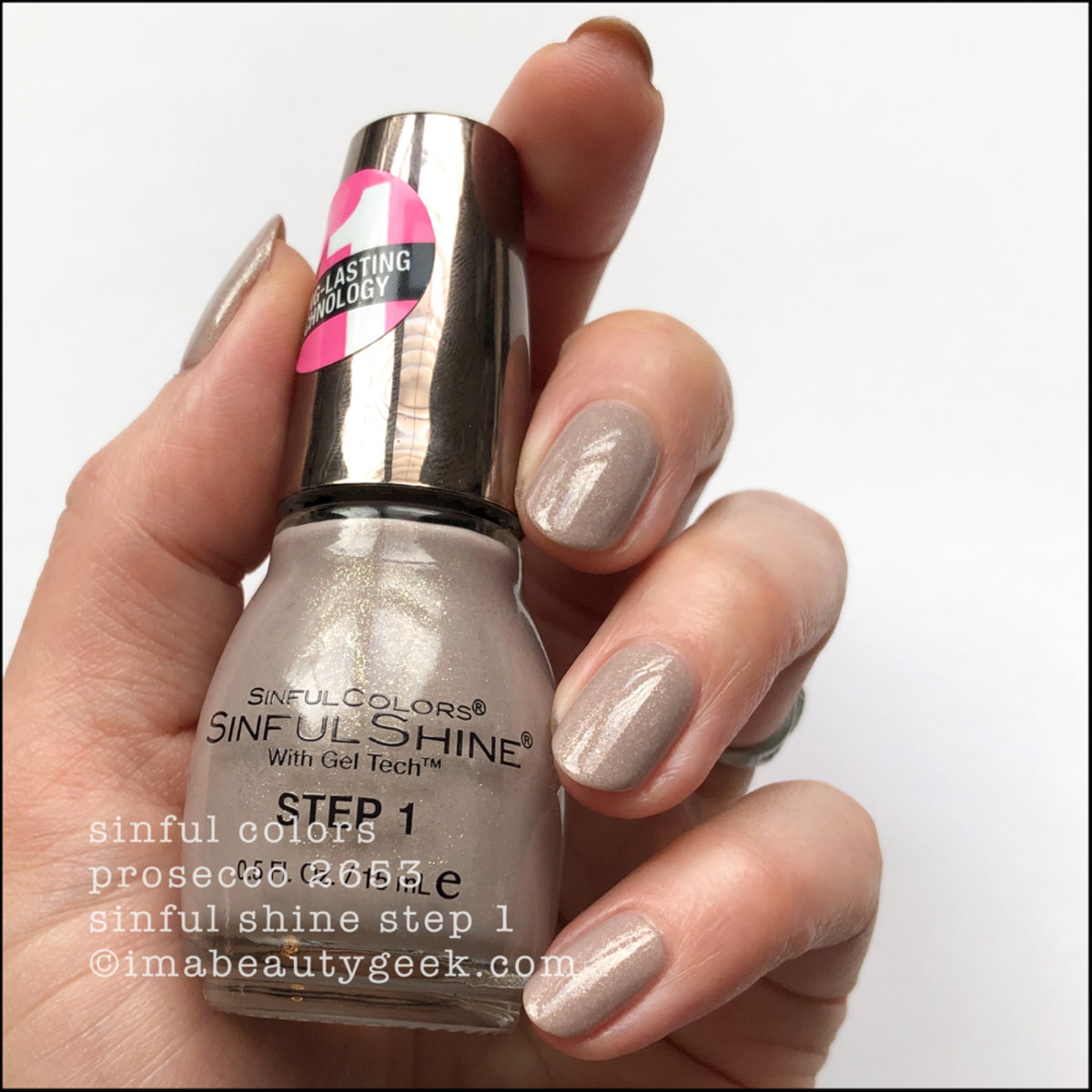 Sinful Colors Prosecco - Sinful Colors Swatches Sinful Shine 2019