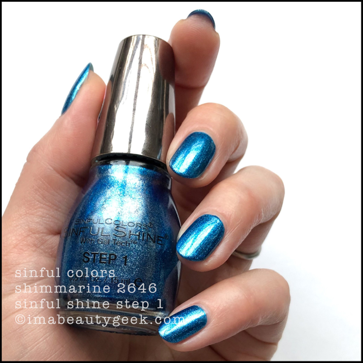 Sinful Colors Shimmarine - Sinful Colors Swatches Sinful Shine 2019