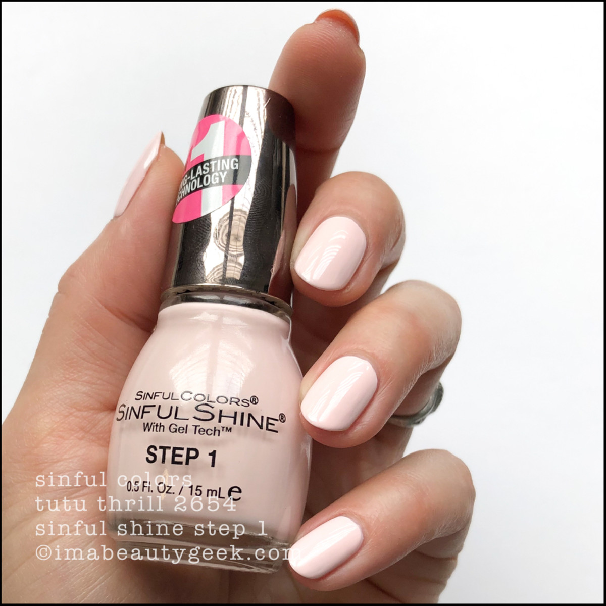 Sinful Colors Tutu Thrill _ Sinful Colors Swatches Sinful Shine 2019