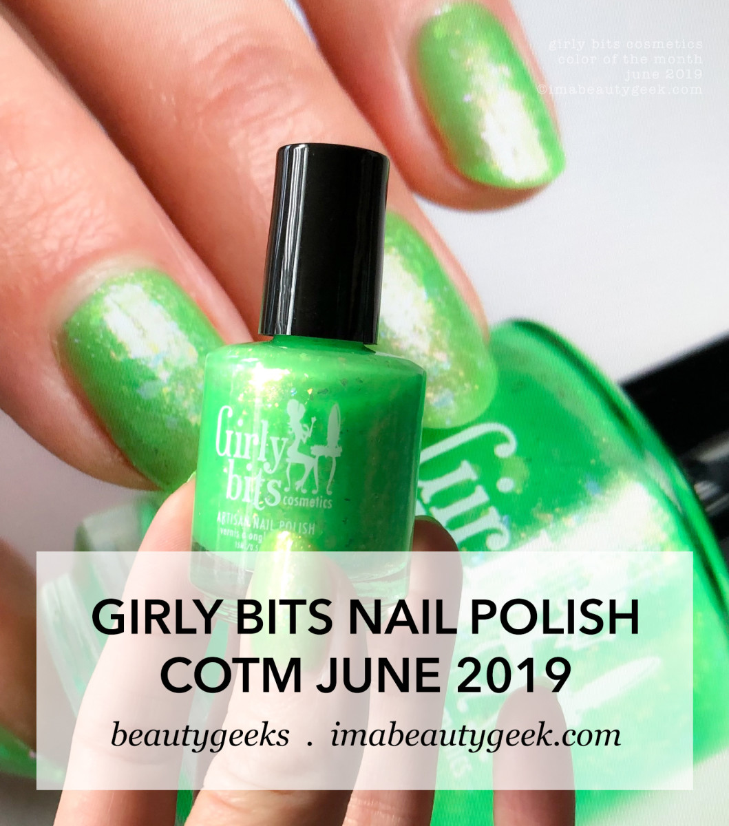 Girly Bits Colors of the Month June 2019