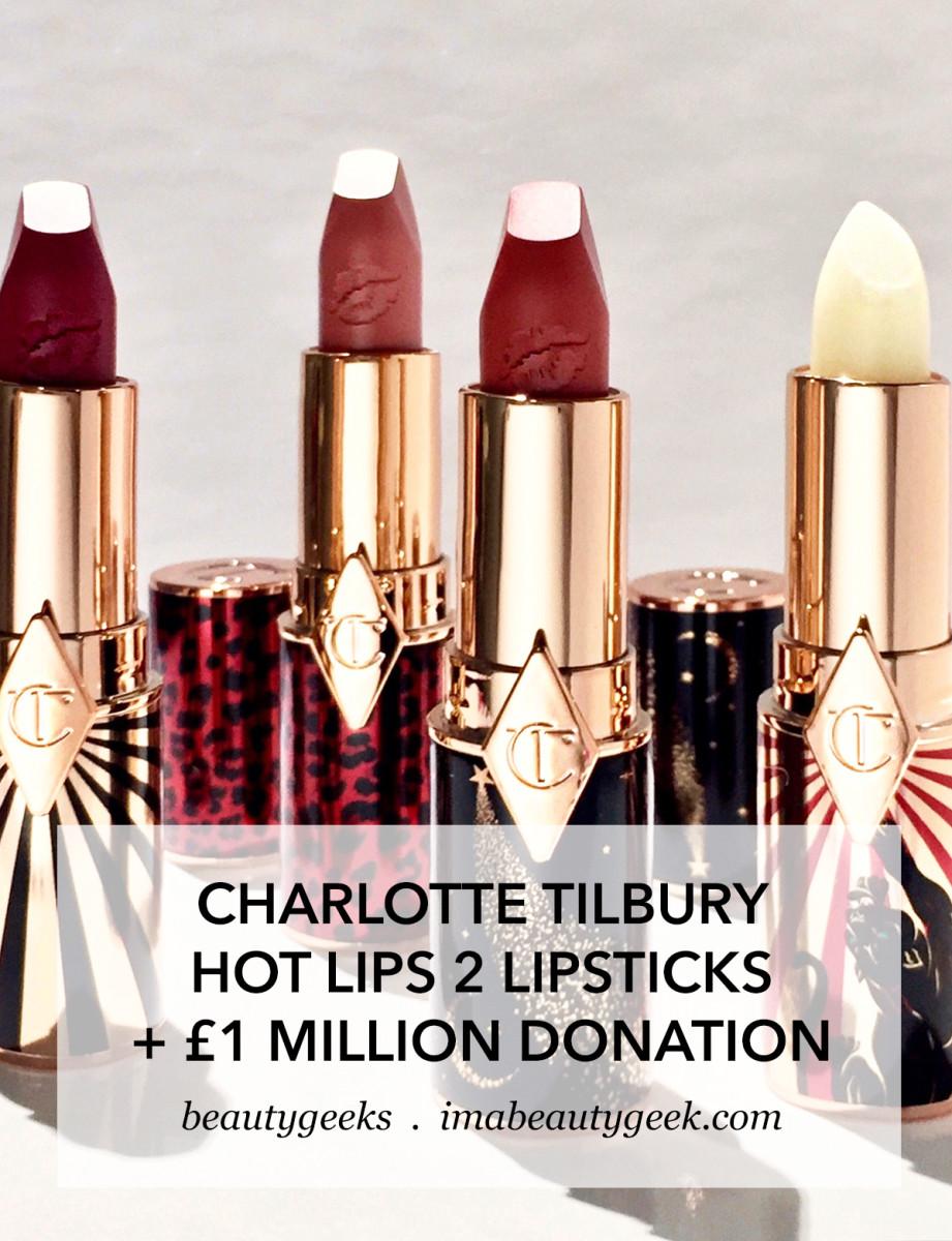 Charlotte Tilbury Hot Lips 2 lipsticks 2019