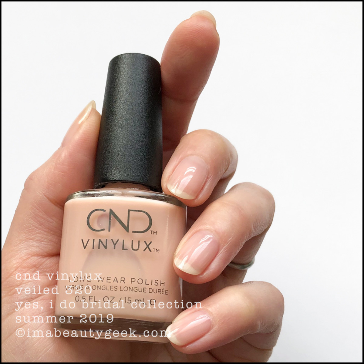 CND Veiled 320 - Yes I Do Bridal Collection 2019
