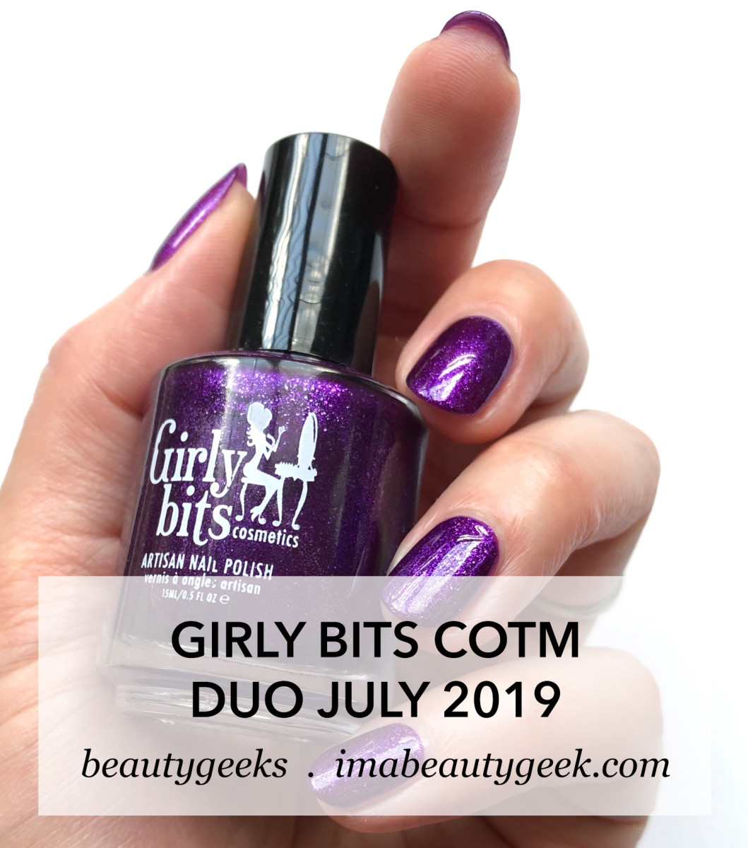 Girly Bits Colour of the Month July 2019
