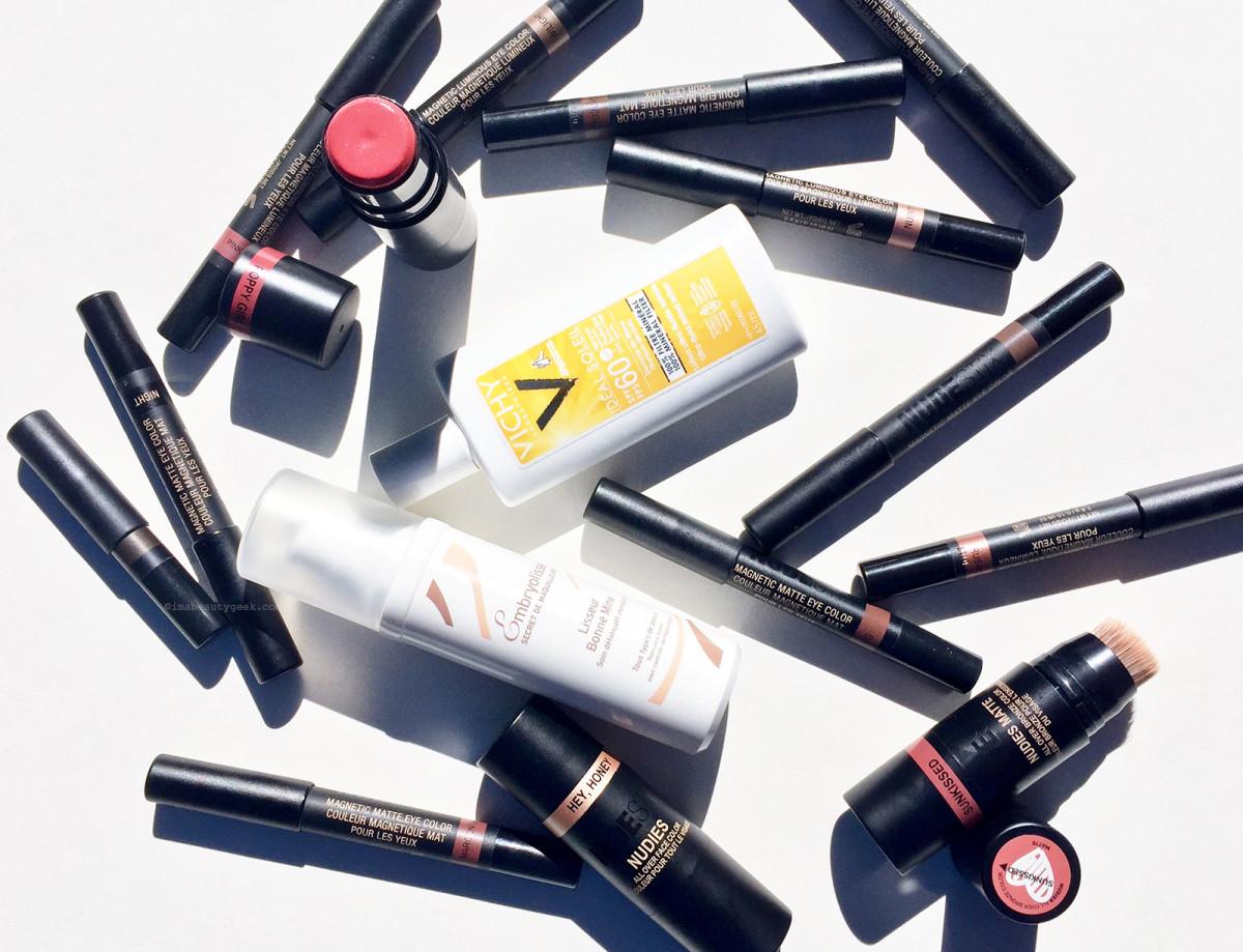 Nudestix, Embryolisse Lisseur Bonne Mine and Vichy Ideal Soleil SPF 60 mineral sunscreen: my summer face
