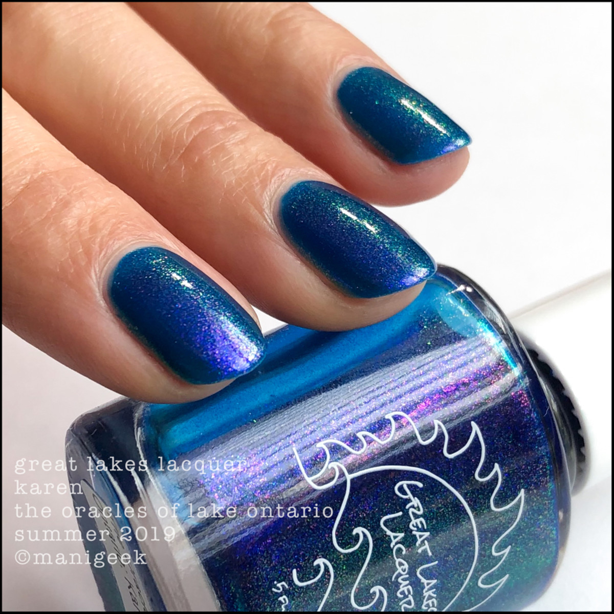 Great Lakes Lacquer Oracles of Lake Ontario Karen - LE IEC 2019 3