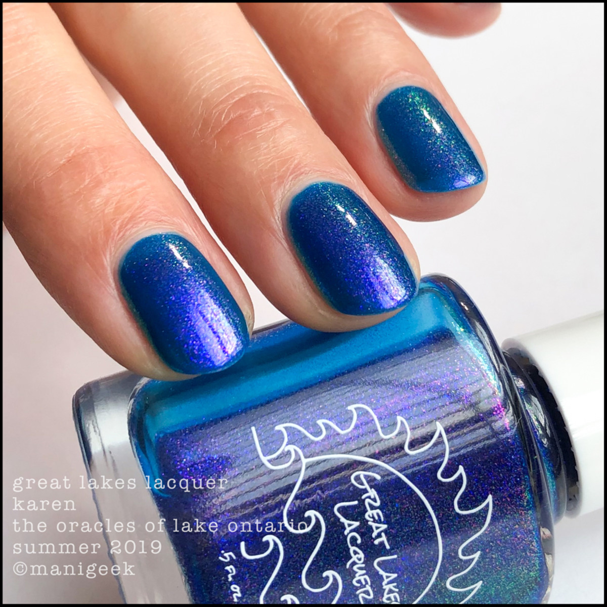 Great Lakes Lacquer Oracles of Lake Ontario Karen - LE IEC 2019 2